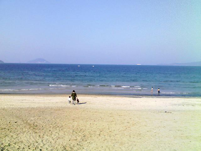 今津の海岸