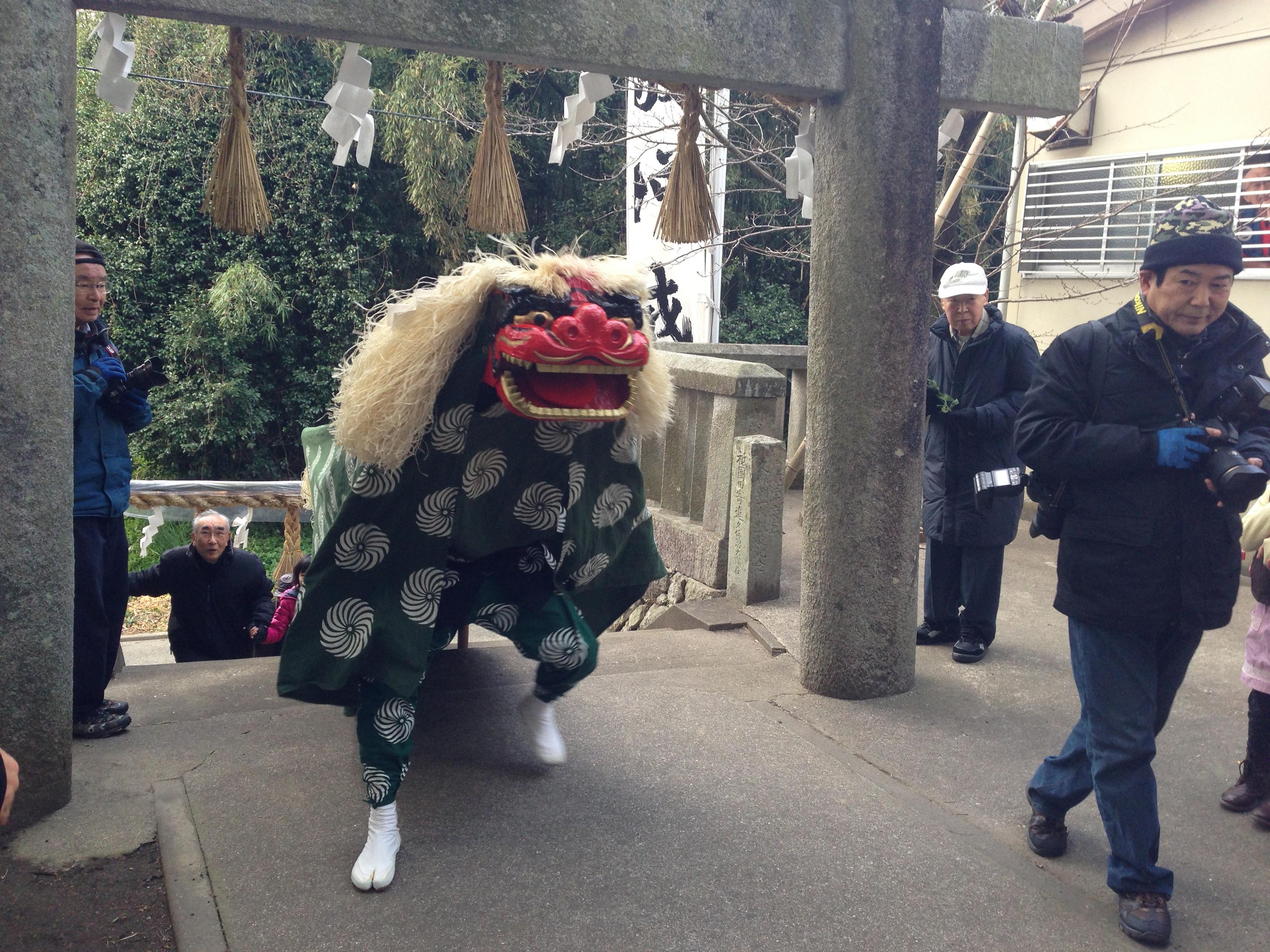 今宿青木獅子舞